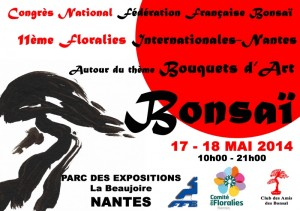 Congrès Bonsai FFB 2014 Nantes