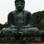 Grand Bouddha en position de lotus de Kamakura, Japon