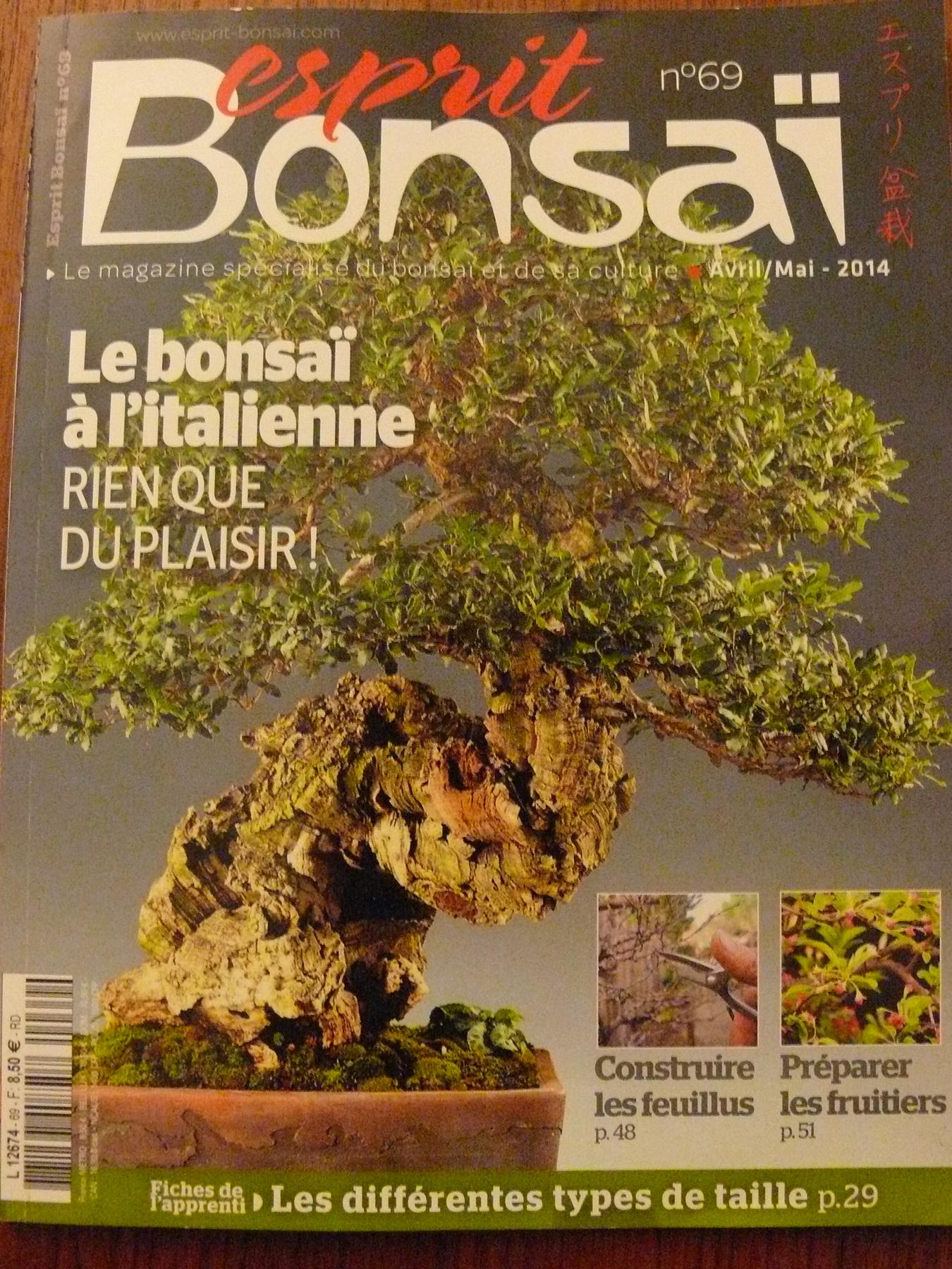 magazine numero 69 Esprit Bonsai