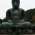 Grand Bouddha en position de lotus de Kamakura, Japon