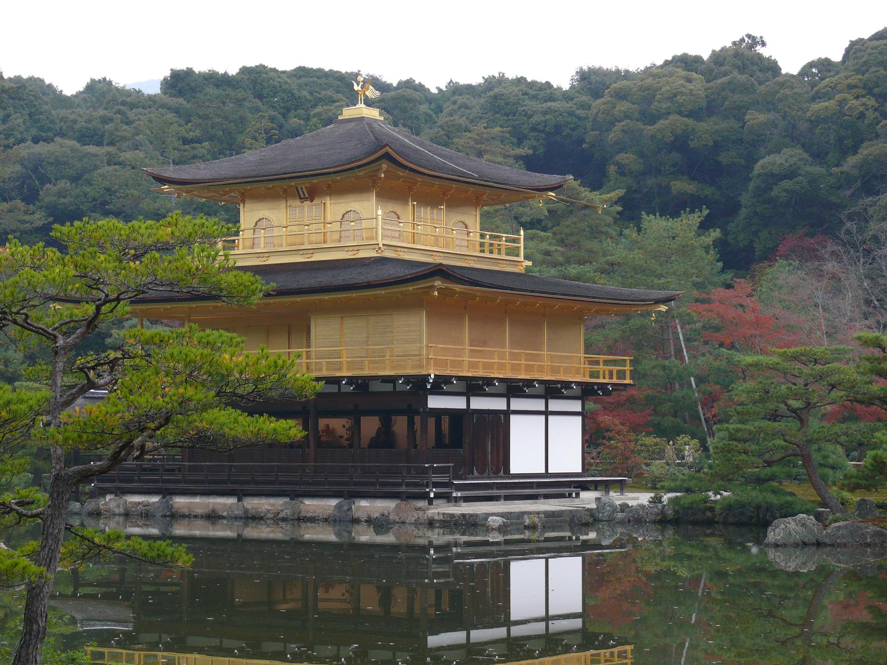 kinkakuji, temple japonais